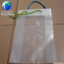 New Design shopping cotton rope handle custom plastic bags