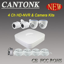 2015 Lastest technology most competitive price 4ch HD NVR kits High-resolution Camera ip cctv system
