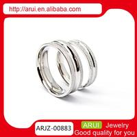 Lateset Design Wholesale Silver Jewelry rings for indonesia wedding gift