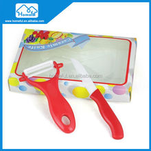 2014 hot sale Zirconia Kitchen Ceramic SantokuVegetable utility ceramic Fruit knife
