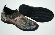 Men's camo rain boots