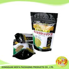 Top Zip Plastic Bag/round Bottom Plastic Food Packaging Bag/stand Up Pouch Bag For Meat,Pork,Beef,Sea Food
