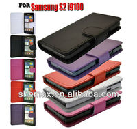 new quality for i9100 replacement Wallet Case