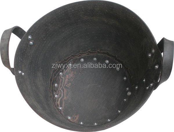 Reciclado neumático rubbber cubo, Neumático de cubos, Neumático cesta