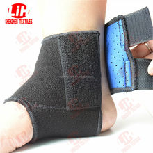 Neoprene ankle support with velcro elastic band compress