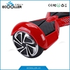 2015 Candy Red 6.5 inch tire bluetooth double speaker two wheel smart balance electric scooter from ecooller