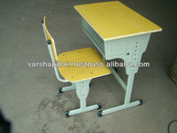 Hot School Furniture / Modern School desk and chair / University school chair and desk