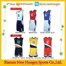 Top quality best-selling league basketball jersey and shorts