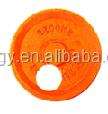 UL FM certificated ductile iron grooved end pipe fittings-eccentric end pipe cap