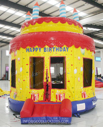 jumping castle/ inflatable dolphin house jumping castle bouncer double sided inflatable water slide /inflatable castle /