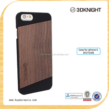 Custom wood case for iphone 6 / pc wooden case for iphone 6 plus / printing wooden cell phone case