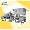 hot sale automatic plastic yogurt cup filling and sealing machine for liquid or semi-liquid