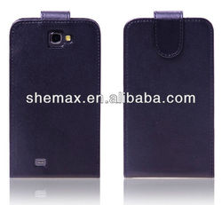 Leather Flip Hard Case Cover For Samsung Galaxy Note 2 II N7100 Note2