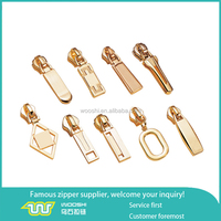 Factory wholesale zipper puller with Non-Lock/Auto-lock slider for bag