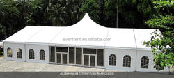 Easy assemble with logo PVC 4x4m easy up wedding tent for sale for camping hotel tent