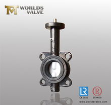 HAND LEVER/HANDLE WAFER TYPE CONCENTRIC BUTTERFLY VALVE WITH TAPER PIN