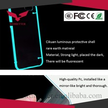 Ultra Thin Transparent Gel Skin Case Cover Luminous Glow For Samsung S6 Case