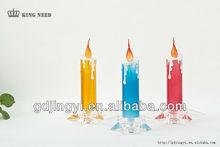 wholesale Acrylic led wedding party decorative candle light