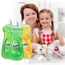 Caliente de la venta 650 ml vera lavavajillas limpiador