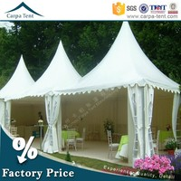 White Marquee 5m*5m Gazebo Tent With Beautiful Linings And Curtains For Hot Sale