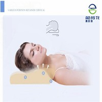 fashion foam pillow design for bad sleeper to ease neck pain memory visco pillow
