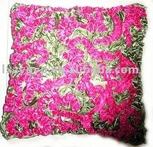 Crumpling process fashion satin Cushion
