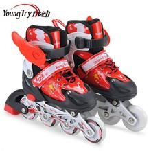 wholesale four wheel ski inline skate shoes
