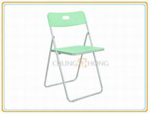 Hot Sale Plastic Chairs With Metal Legs