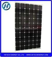 Mono 250watt pv solar module price per watt with TUV CE ISO approved