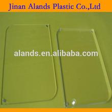 Claro 4x6' de fundición pmma acrílico transparente delgada lámina de plástico