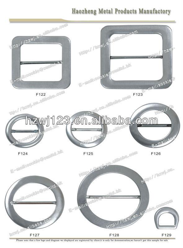 Metal tri - slider fivela para cinto
