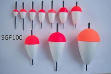 Hot selling cheap chinese fishing float fishing tackles plastic fishing float different color
