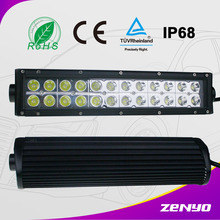 "zenyo Curved/Straight Led Bar Lighting 4X4 Light For Truck With Double Row 13.5"" Off Road 72W LED BAR LIGHT"
