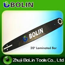 "Manufacturer 20"" saw guide bar/ Laminated bar"