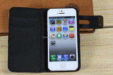Latest soft PU leather creative mobile case for iphone