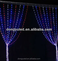 DUBAI WHOLESALE MARKET WHITE CHRISTMAS LED CONNECTIBLE CURTAIN LIGHTS OUTDOOR COMMERCIAL LED CURTAIN LIGHTS