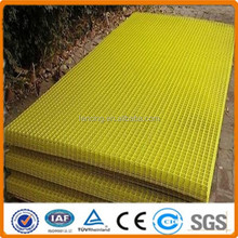 Electric/ hot dipped galvanized/PVC coated welded wire mesh fence panel