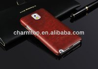 PU Leather Flip Case For Samsung Galaxy Note 3