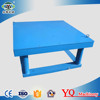 Shaking table electric concrete vibration table with best price