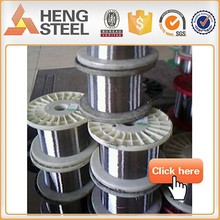 Electro galvanized steel wire 30.5 gauge