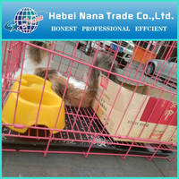 China hot sale wire rabbit cages / rabbit proof fence / small animal cage