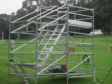 Aluminum Scaffold Frame System, High Quality Used Scaffolding For Sale