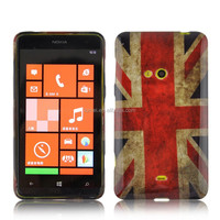 Custom Design Water Stick Tpu Phone Case For Nokia Lumia 620