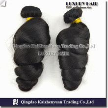 KZY-- Factory price unprocessed remy bulk loose wave hair weft