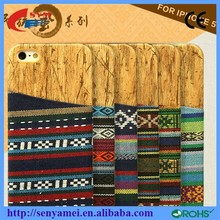 For iphone6 case wood,pc wood case for iphone6, PC wood phone case with card slot