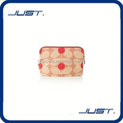 Low MOQ wholesale custom wholesale pu leather cosmetic bag