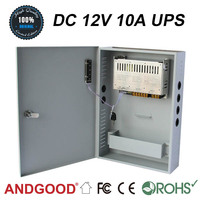 12v 10a AC to DC power supply with ups function,Uninterrupted Power Supply