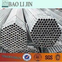 ASTM A53 ERW Pre-Galvanized Fluid/ Gas Pipe/Tube