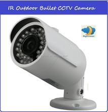 professional cmos 1000tvl IP66 waterproof bullet hi vision outdoor video camera with full hd 1080p 3.6mm lens
