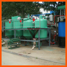 1 ton per day Power saving edible oil refining process, cheap edible oil refinery process, edible oil refinery with ISO
